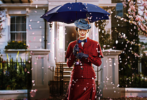 Mary Poppins Returns, promotional materials, main character, Emily Blunt