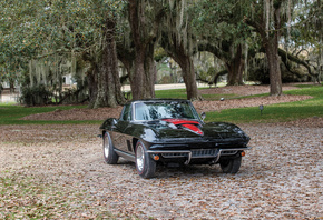 Chevrolet, Retro, 1967, Corvette, Sting Ray, L68 427-400 HP
