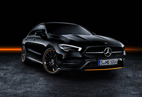 Mercedes-Benz, CLA 250, AMG, Line Edition, Orange, Art