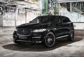 Jaguar, Hamann, Tuning, F-PACE, black, luxury, SUV
