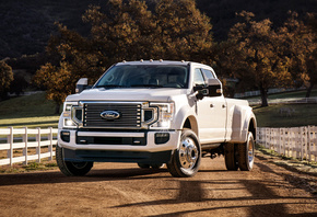 Ford, F-450, Super Duty Limited Crew Cab