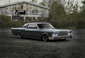 lincoln continental, tuning, классика, lincoln, continental