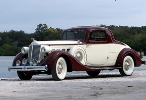 packard, super, eight, coupe, 1936