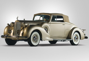 packard, twelve, coupe, roadster, 1938