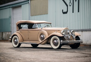 packard, twin-six, individual, custom, 1932