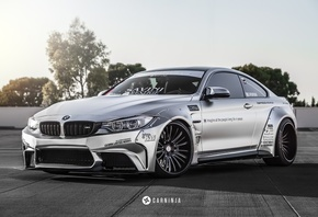 carninja, bmw, m4, coupe, vossen