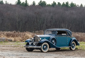 packard, eight, cabriolet, 1933
