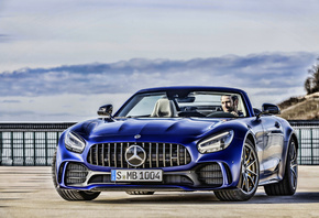 Mercedes, AMG, GT R, Roadster, supercars, cars, HDR, R190