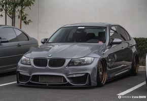 BMW, M4, Cabrio, car, carninja, LB, Performance, Works, low, street, Vossen