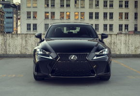 Lexus, IS 300 AWD F, SPORT, Black, Line, вид спереди