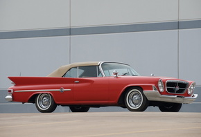 chrysler, 300g, convertible, 1961