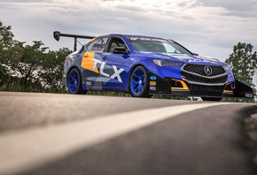 Acura, TLX, tuning, racing car