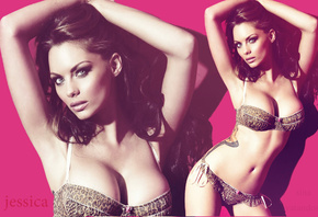 jessica jane clement, photoshoot, bra, lingerie, boobs, brunette, sexy, collage