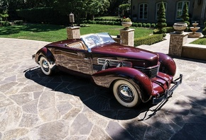 cord, 812, supercharged, convertible, 1937