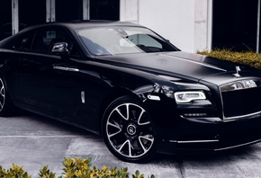 rolls-royce, ghost, black