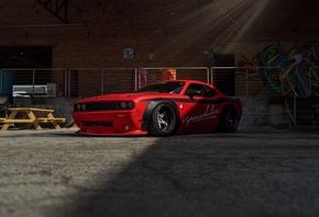 Dodge, Challenger, Tuned