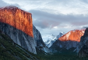 Yosemite, National Park, Sunlight, California, United States