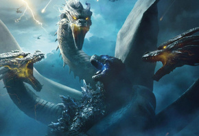 Godzilla, King of the, Monsters, King Ghidorah