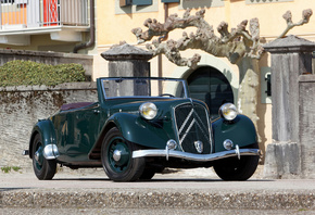 Citroen, Ретро, 1938-39, Traction, Avant, 15-Six G, Cabriolet