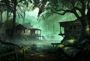 Fantasy Wallpapers, fantasy Art, Digital Art, Artwork, Nature, Trees