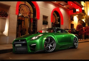 Cars Wallpapers, Nissan GT R