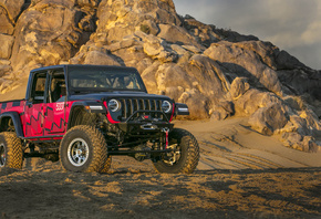jeep, Gladiator, King of the Hammers, Race Car