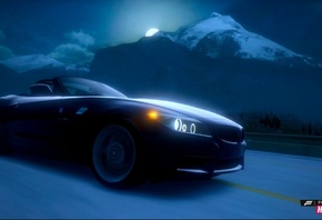 Cars Wallpapers, Forza Horizon, BMW, Night