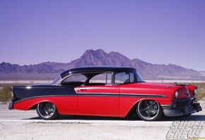 american, classic, car, custom, chevrolet, bel air