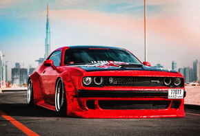 Clinched, tuning, Dodge, Challenger, SRT, Hellcat