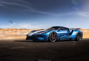 Ford, GT, blue
