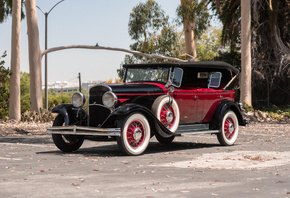 Chrysler, Retro, 1930, Series, 77, Phaeton