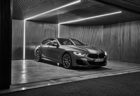 BMW, 8, Gran Coupe, 2019, G16, 8-Series, gray