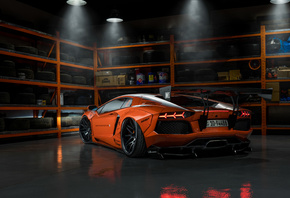 Orange, Lamborghini