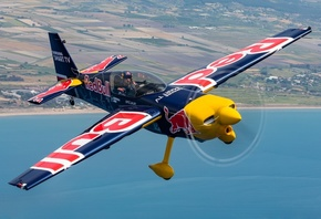 Самолет, Zivko Edge 540, Monoplane, Red Bull, Полет, Авиация