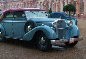 Maybach, Retro, 1939, SW, 42, Hellblau