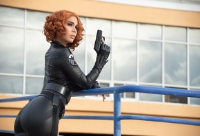 Black, Widow, Cosplay