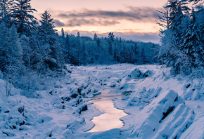 Winter on the St Louis River, Jay Cooke State Park, Minnesota, зима