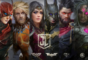 Art, Justice League