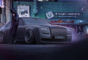 Dark, Rolls Royce