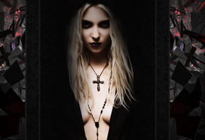 Taylor Momsen, dark, blonde