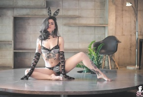 Adriella S.G., Adriella, тату, suicide girls