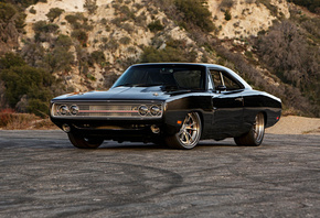 1970, Dodge, Charger, Tantrum