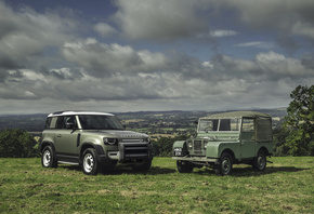 Land Rover, Series I, Land Rover, Defender, SUV