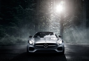 Mercedes AMG, sports car, supercar