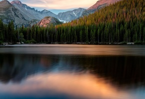Bear Lake, Lake, Mountains, Usa, Nature