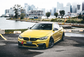 BMW, M4, parking, tuning, F82