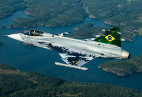 Saab JAS 39 Gripen, F-39E, Brazilian Air Force, FAB, Brazilian fighter, combat aircraft, Brazilian Armed Forces, Brazil