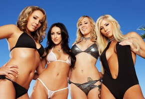Breanne, Benson, and, Brett Rossi, and, Ella Milano, and, Tasha Reign, Just, The, Girls