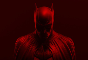 Batman, Red, Background