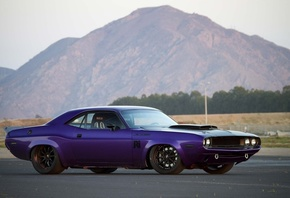 dodge, challenger, 1970, tuning